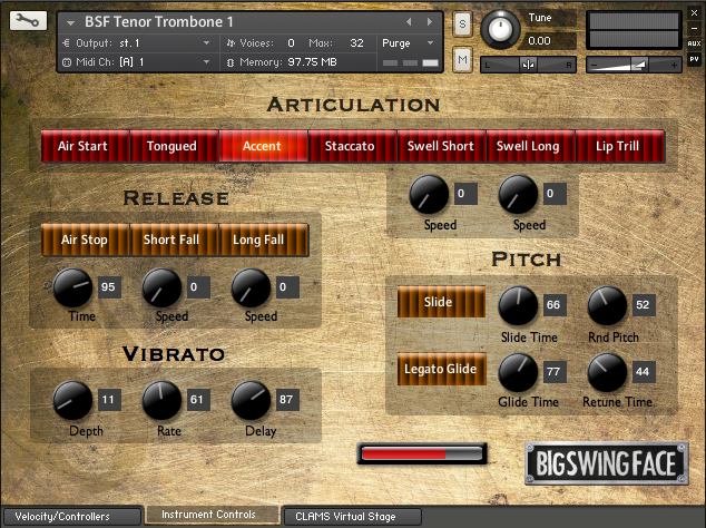 BSF Tenor Trombone (For Kontakt 5)